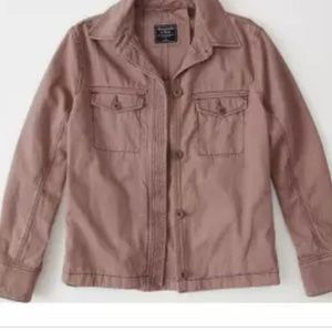 Abercrombie and Fitch twill jacket